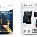 iPhone 5 stickers for iPhone 4 and 4S