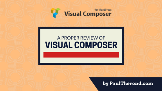 Visual Composer Review and Bonus