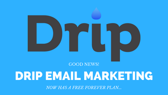 Good news! The Drip Email Automation FREE Forever Plan is here