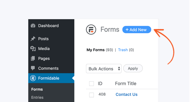 Add a new form