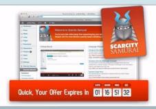 Scarcity Samurai discount