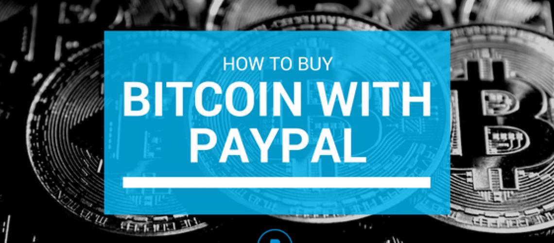 Buy bitcoin - paypal